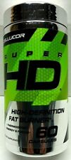 Cellucor Super HD Weight Loss & Nootropic Focus for Men & Women 60 Capsules NEW
