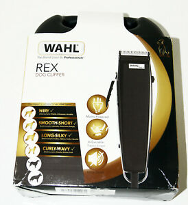 Wahl Corded Rex Dog Clipper Grooming Set With 6 Cutting Length WM6230-0473