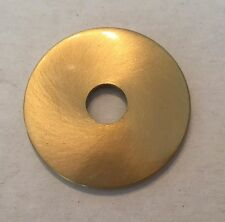 "1-1/2"" SOLID BRASS TURNED CHECK RING NEW LAMP PART"