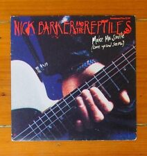 """7"""" Ltd Edition Picture Sleeve Single - Nick Barker & The Reptiles, Make Me Smile"""