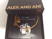 Alex and Ani Charity By Design GIFT BOX Bracelet Rafaelian Gold NWTB&C