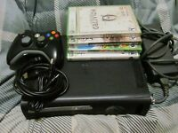 Microsoft Xbox 360 120GB Complete Console BUNDLE 4 Games Tested