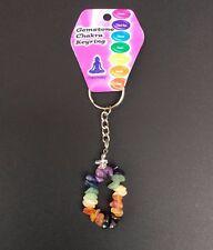 Chakra Crystal Key-ring
