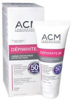 Depiwhite M SPF 50+ ACM Protective Cream Brown Sports Pigment Prone Skin Melasma