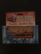 New York Apple Tours Double Decker Bus New In Box, Free Shipping!