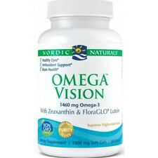 Omega Vision 1460 mg 60 capsules, Zeaxanthin & Lutein, EYE HEALTH, Free P&P