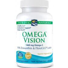 Omega Vision 1460 mg 60 capsules, Zeaxanthin & Lutein, EYE HEALTH, Free P&P