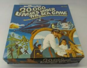 20000 Leagues Under the Sea Lakeside Board Game 1975 Walt Disney World Disneyana
