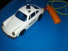 DAIYA remote control vintage Porsche 911 toy Police car antique rare tin