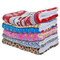 Warm Plush Dog Cat Bed Mat for Kennel Crate Cage Large Sleeping Mattress S-XL