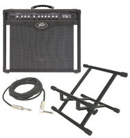 "Peavey Bandit 112 Transtube 100W Guitar Amp Amplifier W/ Stand & 1/4"" Cable New"