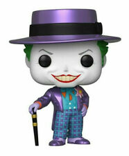 Funko Pop! Batman 1989: The Joker with Hat Metallic Gamestop Exclusive Pre-Order