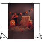 Halloween Photo Background Props Pumpkin Vinyl Photography Studio Backdrop Decor
