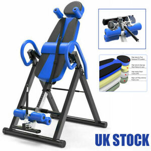 Heavy Duty Folding Inversion Table Bench Fitness Gym Home Back Inversion Machine