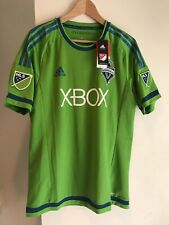 SEATTLE SOUNDERS ADIDAS JERSEY MLS Authentic Adizero Soccer L NWT #33 TRIPSCHITZ