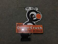 Porcelain Orange crush Enamel SIZE 6 X 8 INCHES