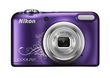 Nikon Coolpix A10 16.1 MP Compact Digital Camera - Purple