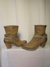 boots/bottines MJUS cuir/peau taupe  40