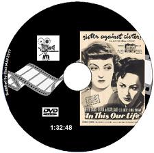 In This Our Life - Bette Davis,Olivia de Havilland,George Brent Film DVD 1942