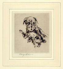 LURCHER DEERHOUND DOG ART LIMITED EDITION ENGRAVING PRINT - by Henry Wilkinson