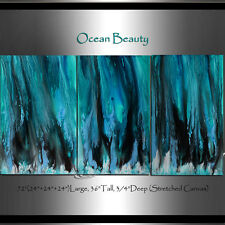 Ocean Art Seascape acrylic painting Wall decor Wall art home Decor Modern art