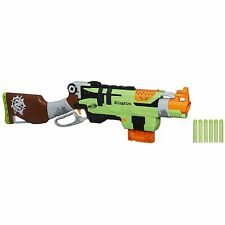 Nerf Zombie Strike SlingFire Blaster Toy Gun Rifle Kids Game Set New