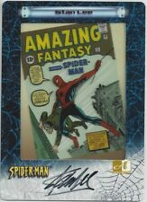 Spider-Man FilmCardz - Stan Lee Autograph Card A11 Case Topper - Artbox 2002