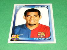 100 DANIEL ALVES BACELONA BARCA UEFA PANINI FOOTBALL CHAMPIONS LEAGUE 2008 2009