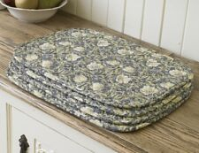 William Morris Pimpernel Cream 4 Quilted Cotton Placemats