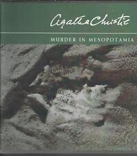 Murder In Mesopotamia by Agatha Christie Audio CD Poirot Mystery read Carole Boy