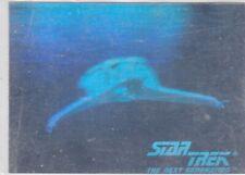 1992 STAR TREK KLINGON BIRD OF PREY STARSHIP HOLOGRAM CHASE CARD 031
