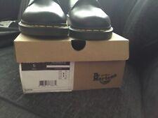 Dr Martens Vegan black Leather 1461 Shoes UK size 10 brand New free UK postage