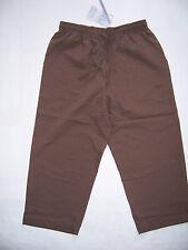 PANTACOURT Femme EPICEA neuf aspect gaufré taille 46 coloris marron chocolat