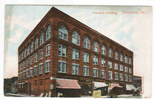 Franklin Building Johnstown Pennsylvania 1908 postcard