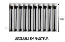 JOUEF LIMA ROCO LOT 10 LAMPADAIRES GLOBE LED  HO 1/87 NEUF DECO 6 CM  TRAINS