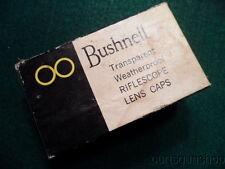 VINTAGE BUSHNELL #77-2102 SCOPECHIEF BANNER LENS CAPS NOS