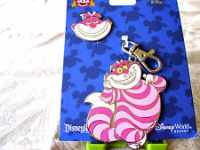 Disney * CHESHIRE CAT MEDAL & PIN * Pin Trading Lanyard Medal & Pin Set