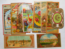 10 Original Vintage Fez Labels