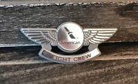 Lot of5 American Airlines Junior Pilot Wings -Flight Attendant Crew Pin - AAL