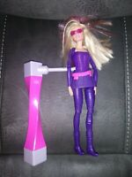 "Barbie Doll Secret Agent Spy Squad Set 11.5"" Mattel 2015 Flips With Spinner"