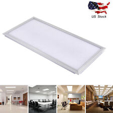24W LED Recessed Ceiling Panel Down Light Bulb Ultra-thin Rectangle Lamp White