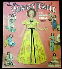 Un-Cut Paper Doll Book - Original Shirley Temple - Authorized Edition. 1942