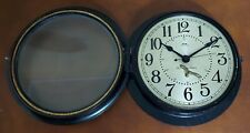 "Working Excellent Condition Seth Thomas 10"" Naval Ship Clock Bakelite Phenolic"