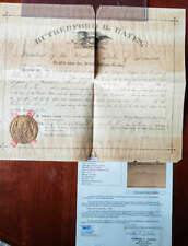 Rutherford B Hayes JSA Loa Hand Signed 1880 Appointment Autograph