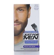 JUST FOR MEN Brush-In Color Gel, Medium-Dark Brown M-40 1 ea
