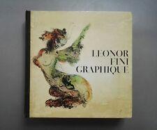 Leonor Fini graphique J-Paul Guibbert Guilde du livre 1971