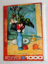 Eurographics Jigsaw Puzzle Paul Cezanne Blue Vase Art 1000 Pieces 19x26 Flowers