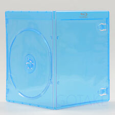 25pcs Empty Blu-ray Case 7mm With Logo Single CD DVD BD Disc Storage Replacement