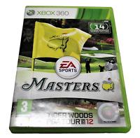 EA Sports Masters Tiger Woods PGA Tour 12 XBOX 360 PAL XBOX360