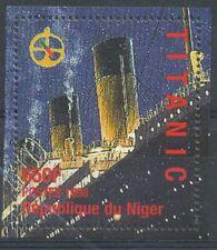 [36231] SUP  **/Mnh    - Niger 1998 - Naufrage du TITANIC